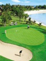 campo da golf sull'isola Mauritius