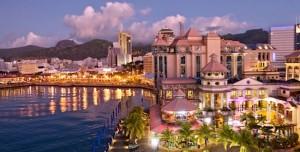 Ristoranti ed edifici a Mauritius
