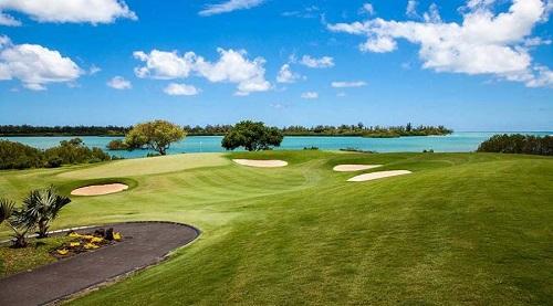 campo golf sull'isola dei cervi